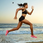 Allyson Felix Water run